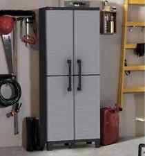 plastic outdoor storage cabinet. Beautiful Plastic Outdoor Storage Cabinet Patio Furniture Plastic Shelves Bathroom Garage  Lockable For
