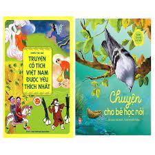 Combo Sách Truyện Cổ Tích Việt Nam Được Yêu Thích Nhất + Chuyện Cho Bé Học  Nói giảm chỉ còn 124,000 đ