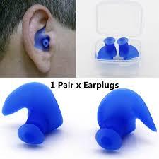 1 pair Spiral Ear Plugs <b>Silicone Waterproof Dust Proof Ear</b> Plugs ...