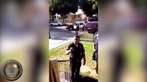 Half Dozen LAPD Officers Bully Arrest Kid For Not Wearing Helmet.