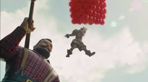Pennywise (Bill Skarsgaard) sails to new heights in a film that sequel that fails to do the same.