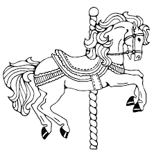 Small Picture Carousel Horse Coloring Pages Coloring Pages