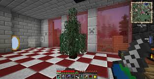 So yeah, I got bored in my minecraft world, and I decided i needed christmas  tree