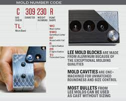 Lee Cast Bullet Mold Chart Hand Gun Bullet Molds Lee Precision