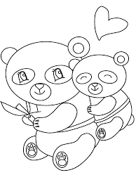 Panda3 Animals Coloring Pages Coloring Page Book For Kids
