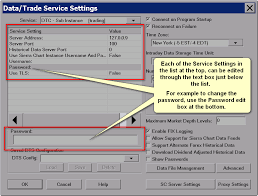 Sierra Chart Brokers Data Trade Service Settings Sierra Chart
