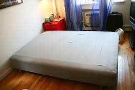 ikea full size mattress. IKEA SULTAN Full Size Mattress With Wooden Base And Legs: $50 (sold Ikea M