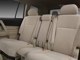 2008 toyota highlander rear seat