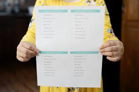 Kids Daily Responsibilities Checklist
