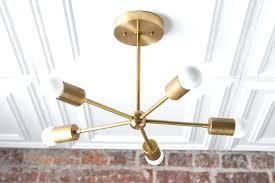 Brass <b>Ceiling Light</b> Fixtures <b>Antique</b> Fan Mid Century <b>Modern</b> Lamps