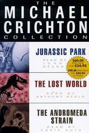 mini store gradesaver michael crichton value collection andromeda strain jurassic park and the lost world the michael crichton collection