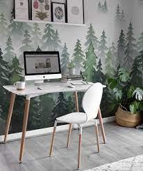 6 Inspiring Home Office Wallpaper Ideas ...