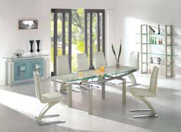 modern glass dining room tables. Contemporary Kitchen Modern Glass Dining Table And Chairs Room Tables B