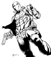 684x892 batman robin nightwing red hood drawing batman coloring pages 807x905 red hood dc coloring pages red riding hood wolf coloring pages