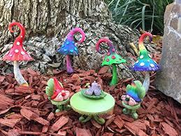 enchanted miniature mushroom for a fairy garden and