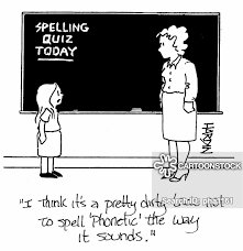 It was devised by the international phonetic association as a standardized representation of the sounds of spoken language. Phonetic Cartoons And Comics Funny Pictures From Cartoonstock