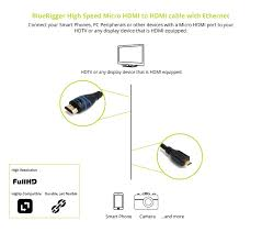 bluerigger high speed micro hdmi to hdmi cable amazon co uk bluerigger high speed micro hdmi to hdmi cable amazon co uk camera photo