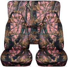 jeep wrangler pink real tree camo seat covers