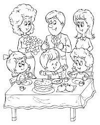 Small Picture Happy Birthday Dad Coloring Pages For Kids Birthday Coloring
