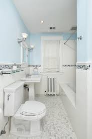 Traditional Subway Tile Bathroom Transitional Bathroom Dc