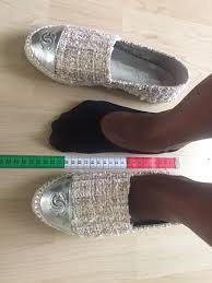 Chanel Espadrilles Size Chart Chanel Espadrilles Fisherman Sizing Reference Repladies