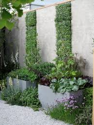 Small Picture love the planters and vertical garden interior design garden