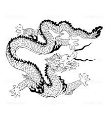 Free Coloring Page Coloring Adult Dragon Chinois Kleurplaten Voor