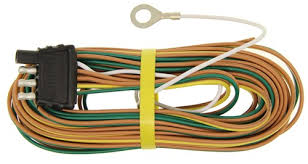 4 way trailer wiring harness has 5 wires coming out of it wishbone 4 way trailer wiring harness 30 ground wire