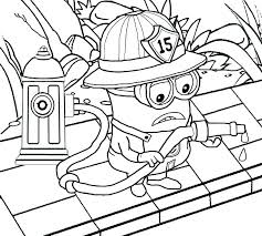 fire safety coloring page prevention pages fireman firefighter book fdny