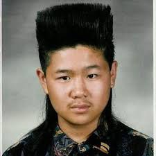 Asian mullets on guys
