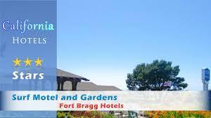 surf motel and gardens fort bragg hotels california