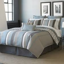 gray blue and green comforters