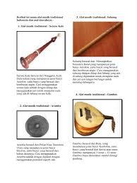 Tifa berasal dari daerah ? Alat Musik Tradisional Saluang