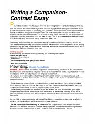 comparison essay example sample introduction for compare and  compare and contrast essay example for college how to start a 1275x1650 pixel tmlf comparison