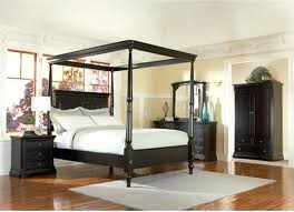 black wood canopy bed – blowmymind.co