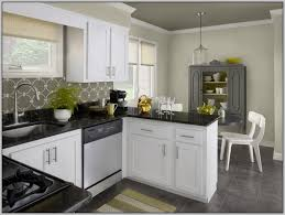 kitchen colors white cabinets black countertops painting best paint color for kitchen with dark oak cabinets