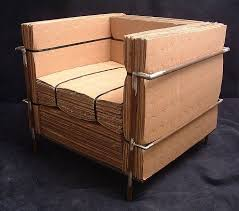 recycled paper furniture. cardboard furniture recycled paper e