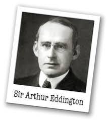 Resultado de imagen de arthur eddington