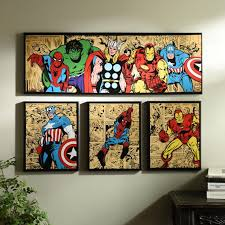 marvel comics wall art uk