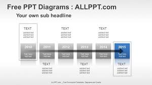 Year Timeline 6 Years Timeline Ppt Diagrams Download Free