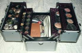 large makeup train case nyx makeup artist train case with lights extra large black silver x