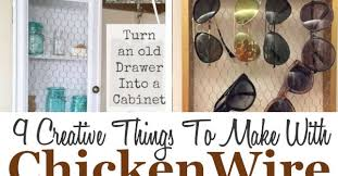 9 DIY Chicken Wire Projects - DIY Home Sweet Home