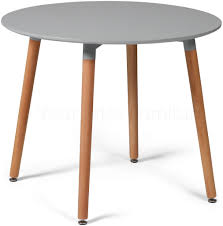 eiffel grey designer dining table round small now on your furniture