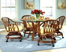 lofty design ideas dining room chairs with casters upholstered rolling chair astounding
