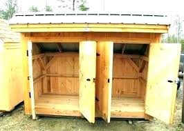 trash can enclosure rbage can enclosure ideas trash shed plans plan building a outdoor storage bear