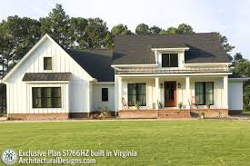 Architectural Designs 51766hz Plan 22119sl One Bed Cottage With Fireplace Farm House In