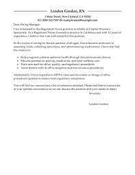 Fearsome Rn Cover Letter Sample Letters New Nursing Samples