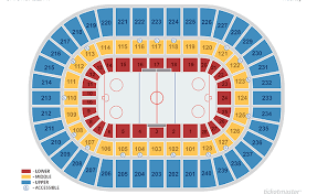 Nassau Coliseum Seating Chart Hockey Seating Charts Nycb Live