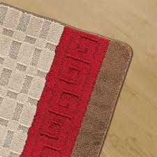gel brown rugs red 5