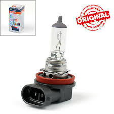 Genuine <b>OSRAM H11</b> 64211 <b>12V 55W PGJ19</b>-<b>2</b> Halogen Headlight ...